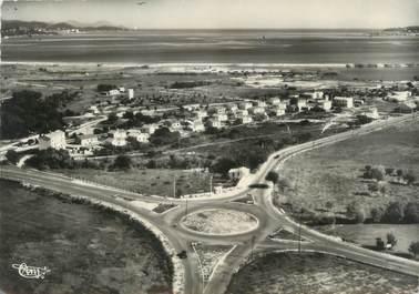 """CPSM FRANCE 83 """" La Foux, Le Rond Point, la plage """""""