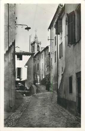 """CPSM FRANCE 83 """" Bagnols en Forêt, Rue de l'église"""""""