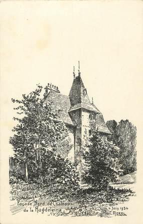 "CPA FRANCE 83 "" Magdeleine, Le château"""
