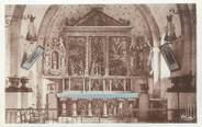 """83 Var CPA FRANCE 83 """"Seillans, Intérieur de La Chapelle de Notre Dame de l'Ormeau"""""""