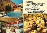 "83 Var CPSM FRANCE 83 ""Seillans, Hôtel de France, Restaurant Clariond"""
