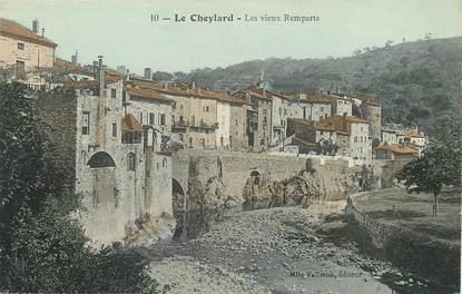 """CPA FRANCE 07 """"Le Cheylard, les vieux remparts"""""""