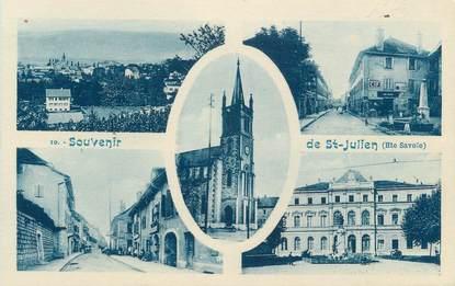 "CPA FRANCE 74 ""St Julien en Genevois, Vues"""