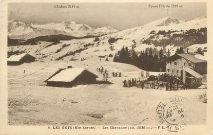 """CPA FRANCE 74 """"Les Gets, Les Chavanne"""""""