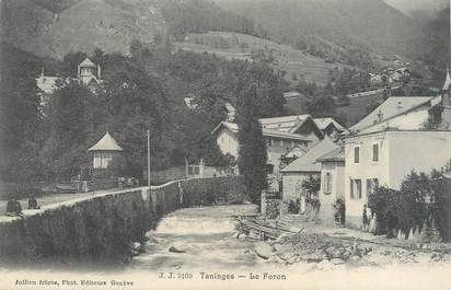 """CPA FRANCE 74 """" Taninges, Le Foron"""""""