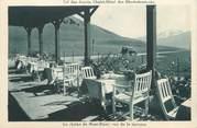 """74 Haute Savoie CPA FRANCE 74 """" Le Col des Aravis, Le chalet - Hôtel des Rhododendrons"""""""