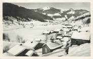 """74 Haute Savoie CPSM FRANCE 74 """" La Clusaz, Vallée et village des Confins"""""""
