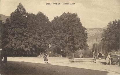 "CPA FRANCE 74 "" Thônes, Place Avet"""