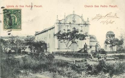 CPA PHILIPPINES / San Pedro Macati / CACHET PAQUEBOT LIGNE W