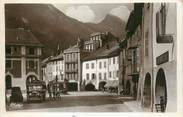 """74 Haute Savoie CPSM FRANCE 74 """" Thônes, Place de la Poste"""""""