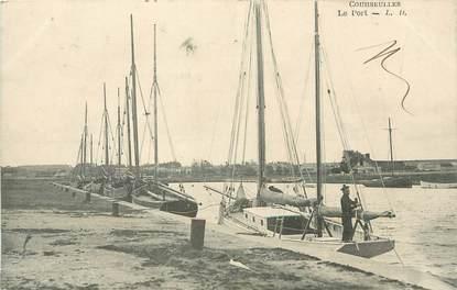 """/ CPA FRANCE 14 """"Courseulles, le port"""" / BATEAU"""