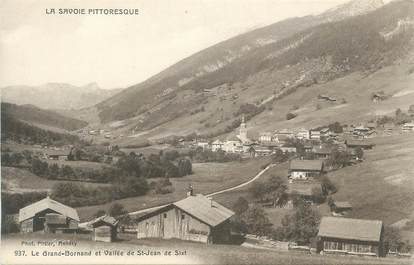 "CPA FRANCE 74 "" Le Grand Bornand, La Vallée de St Jean de Sixt"""