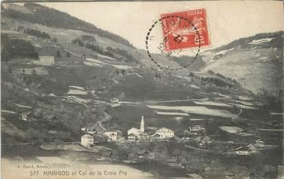 """CPA FRANCE 74 """" Manigod, Le Col de la Croix Fry"""""""