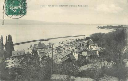 "CPA FRANCE 74 "" Rives sous Thonon, Pointe de Ripaille"""