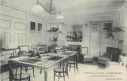 """CPA FRANCE 74 """"Thonon les Bains, Le salon de correspondante de l''Hôtel du Parc"""""""