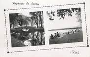 """74 Haute Savoie CPSM FRANCE 74 """" Sciez, La plage et le Lac Léman"""""""