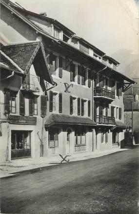 """CPSM FRANCE 74 """" Thorens - Glières, Hôtel de Savoie"""""""