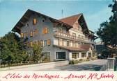 """74 Haute Savoie CPSM FRANCE 74 """" Armoy, Hôtel Restaurant A l'Echos des Montagnes"""""""