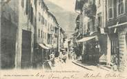 "73 Savoie CPA FRANCE 73 "" Bourg St Maurice, Une rue"" / CACHET PERLE"