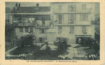 """CPA FRANCE 73 """" Bourg St Maurice, Le monument aux morts"""""""