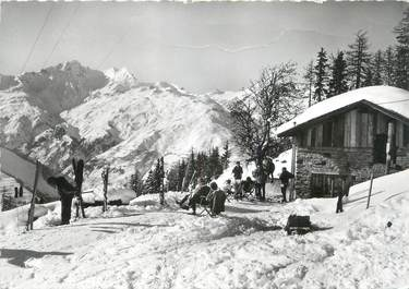 """CPSM FRANCE 73 """" Bourg St Maurice, Courbaton'"""