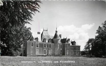 """/ CPSM FRANCE 37 """"Continvoir, château des Ricordères"""""""