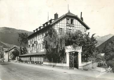 "CPSM FRANCE 73 "" Bourg St Maurice, Hostellerie du Petit St Bernard"""