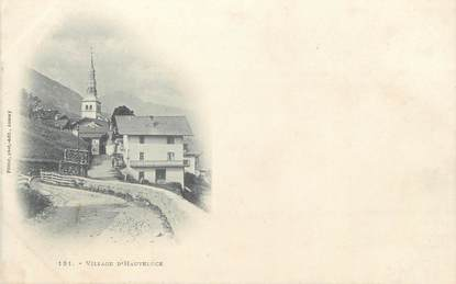 "CPA FRANCE 73 "" Hauteluce, Le village"""