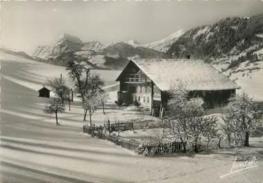 """CPSM FRANCE 73 """" Hauteluce sous la neige"""""""