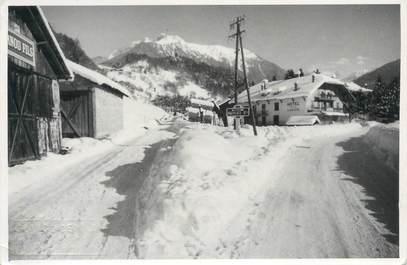"""CARTE PHOTO FRANCE 73 """" Beaufort sur Doron sous la neige"""""""