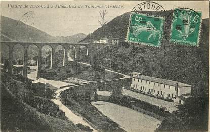"""CPA FRANCE 07 """"Viaduc de Duzon, près de Tournon"""""""