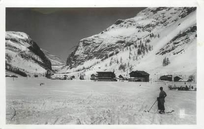 """CPSM FRANCE 73 """" Val d'Isère, Vue vers le Tuf de la Tovière"""""""