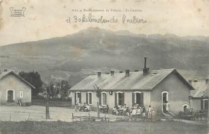 """CPA FRANCE 73 """" Vulmis, Les baraquements et la cantine"""""""