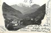 """73 Savoie CPA FRANCE 73 """" Brides les Bains, Les glaciers de la Vanoise"""""""