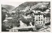 """73 Savoie CPSM FRANCE 73 """" Brides les Bains, Les ponts sur le Doron et l'étabissement thermal"""""""