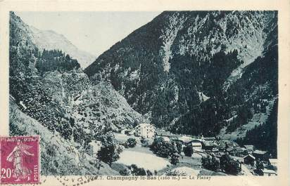"""CPA FRANCE 73 """" Champagny le Bas, Le Planay"""""""
