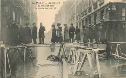 """CPA FRANCE 75006 """"Paris, la rue du Bac"""""""
