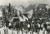 """73 Savoie CPSM FRANCE 73 """" Courchevel, La messe des skieurs"""""""
