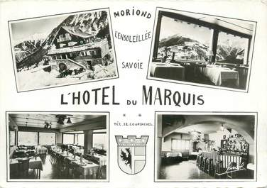 "CPSM FRANCE 73 "" Courchevel, l'Hôtel du Marquis"""