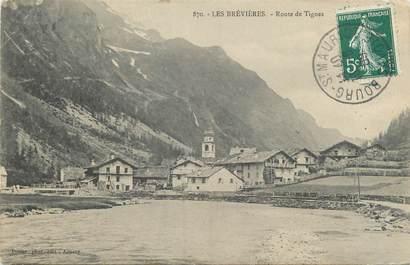 """CPA FRANCE 73 """" Les Brevières, Route de Tignes"""""""