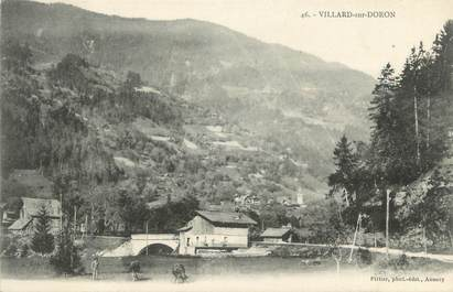 "CPA FRANCE 73 "" Villard sur Doron"""