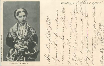 "CPA FRANCE 73 "" Chambéry, Costume de Savoie"" / FOLKLORE"