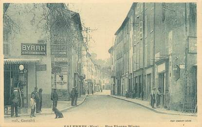 "CPA FRANCE 83 "" Salernes, Rue Pierre Blanc"""