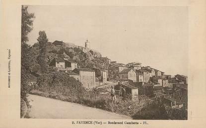 """CPA FRANCE 83 """" Fayence Boulevard Gambetta"""""""