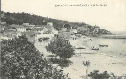 """CPA FRANCE 83 """" Le Lavandou, Vue générale"""""""