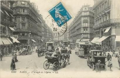 """CPA FRANCE 75 """" Paris 2ème, Avenue de l'Opéra"""""""