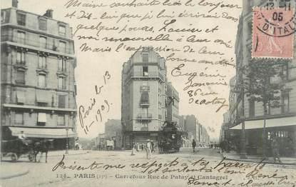 """CPA FRANCE 75 """" Paris 13ème, Carrefour Rue de Patay et Cantagrel"""""""