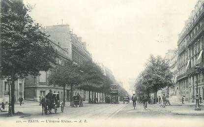 """CPA FRANCE 75 """" Paris 16ème, L'Avenue Kléber"""""""
