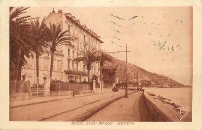 "CPA FRANCE 06 "" Menton, Hôtel Beau Rivage"""