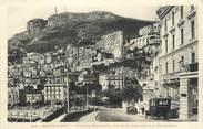 """France CPA MONACO """" Monte Carlo, Avenue de Monte Carlo, vue sur la Condamine et la Tête du Chien"""""""